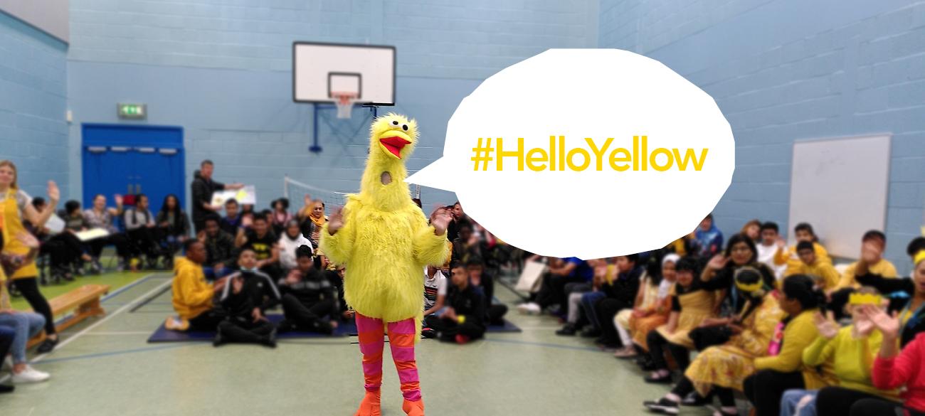 #HelloYellow